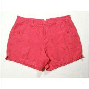 CALVIN KLEIN JEANS Linen Casual Shorts 3047E1M